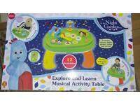 In the night garden activity table new & unopened