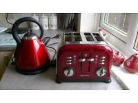russell hobs kettle and morphy richards toaster