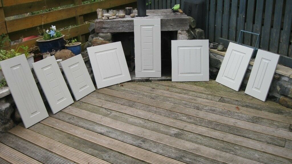 Kitchen Cabinet Doors Skip Salvaged Bespoke Unit Doors No