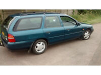 Ford Mondeo 2.0 1993 L reg last owner for 20 years moted till October Very Rare in this condition