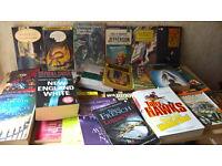Job lot Books (About 30 Books)