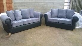 Sofas 3&2 Seaters, Brand New and unused, still in original packaging, can deliver.