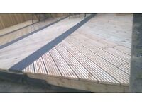 SCANDINAVIAN REDWOOD HEAVY DUTY PRESSURE TREATED DECKING BOARDS