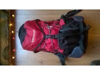 Lightweight Karrimor rucksack for climbing or biking approx 30ltrs
