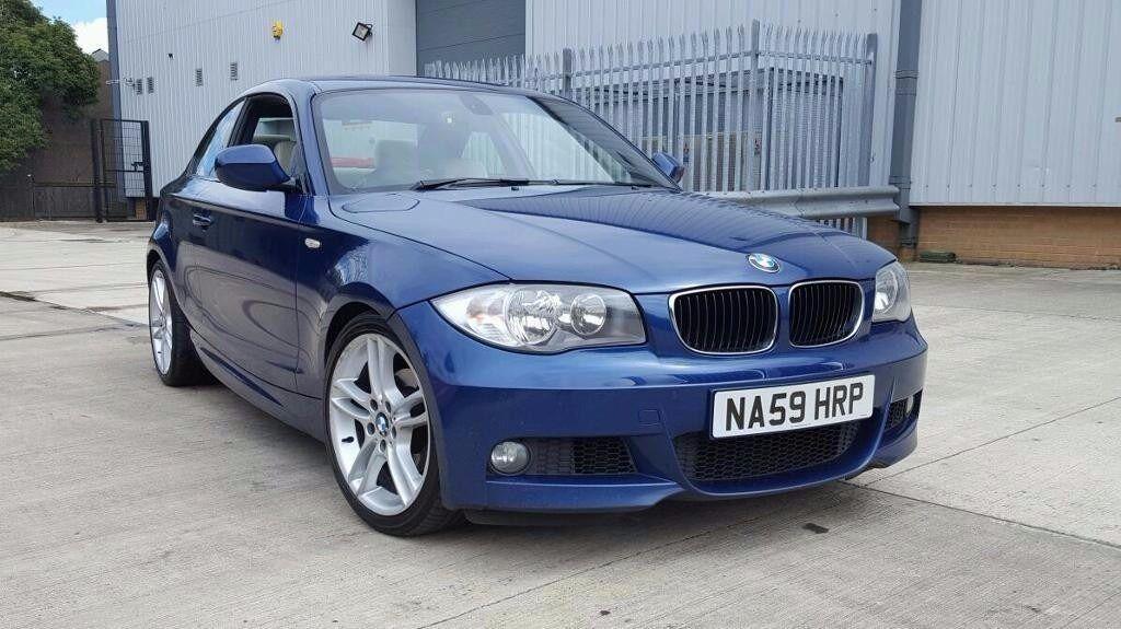 2010 BMW 1 SERIES 118D M SPORT STEP AUTO 2 DOOR COUPE LE MANS BLUE FSH 1 OWNER NOT M135I 120D