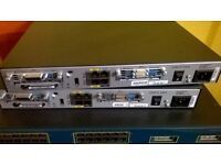 CISCO CCNA CCNP CCIE LAB 2 X 3550 1841 2950T WIC-2T ROUTER SWITCH IDEAL LAB