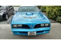1978 trans am in lovely condition needs nothing doing to it MOT'd for £17,995