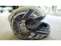 MOTORCYCLE HELMET KYNEBLU3XL NEVER USED, PRICED TO SELL @ 50% OF NEW PRICE