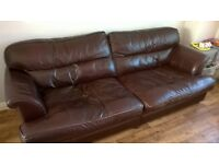 four seat and three seat leather sofa oxblood red leather