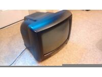 """Small TV Television 14"""" inch ..............."""