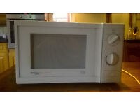 Microwave Proline Microchef SM11 750w manual, not digital (easy to operate)