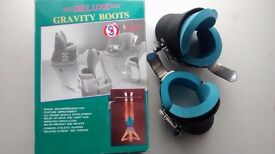 """Abs, Back & Core Strength Training: Gravity """"Boots"""" for inverted exercise"""
