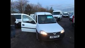 White Vauxhall Combo