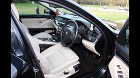 BMW F10 520d • FBMWSH •TRACKER • CREAM LEATHER