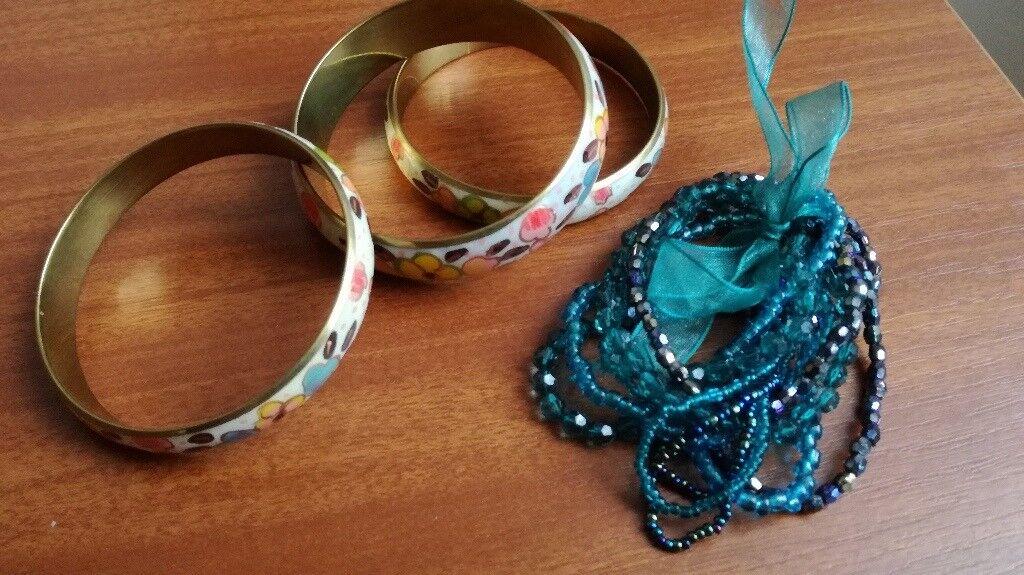 Assortment of bracelets and bangles
