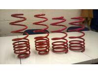 Full set of 40mm lowering springs for 1.9 diesel mk 4 VW Golf 2003