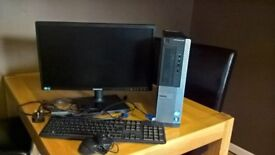 Desktop PC Dell OptiPlex 390 with monitor and all