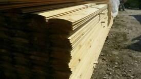"Untreated 5"" Log Lap (22mm x 120mm) 3.9mtr Lengths"