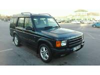 2002 LAND ROVER DISCOVERY II 4.0 V8i ES AUTO BLACK 7 SEATER TOP SPEC LOW MILES FULL MOT LOVELY 4X4