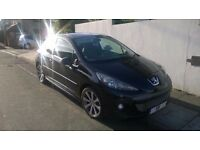 Peugeot 207 GTI 175 Turbo 59 Reg 2009 New Mot RARE Panoramic for this model many extras SWAP