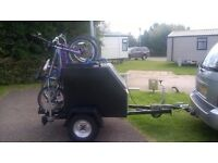 single axle trailer with brakes