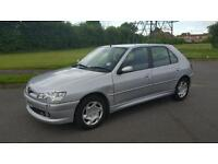 PEUGEOT 306 LX HDI DRIVES VERY WELL VERY ECONOMICAL LONG MOT BEING USED DAILY STILL!!