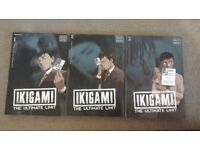 Ikigami manga volumes 1-3