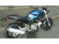 ducati monster blue glitter limited edition mint px/swap