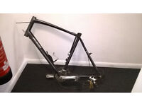Specialized Sirrus Comp Bike Frame with lock. For spares or repair