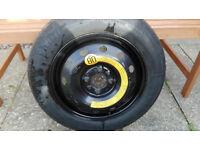 Spare Tyre 135/80 B 14