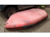10ft/3.1m humber inflatable boat avon redcrest