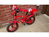 Childs Fire and Rescue Bike