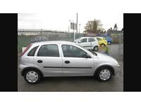 2006 vauxhall corsa 1.0 full years mot low tax & group 1 insurance