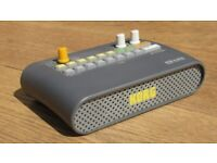 KORG KR mini RHTHM Drum machine with built in speaker and internal storage - AS NEW