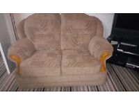 Lovely Two seater Sofa and One chair.