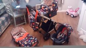 Cosato gighle 2 compact travel system