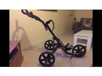 Clicgear golf trolley cart 3 wheel