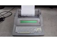 Brother GW-25 electronic word processor/typewriter in good working condition with spare ribbons