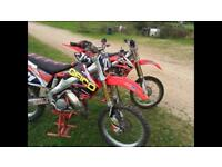 Honda cr 125 mint condition full rebuild swap 250 450 Yz Yzf Crf kx kxf rm rmz Ktm Jetski
