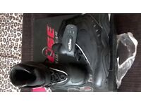 motorcycle boots size 3