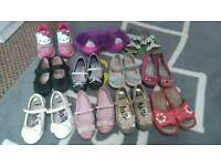 Bundle of size10 girls shoes