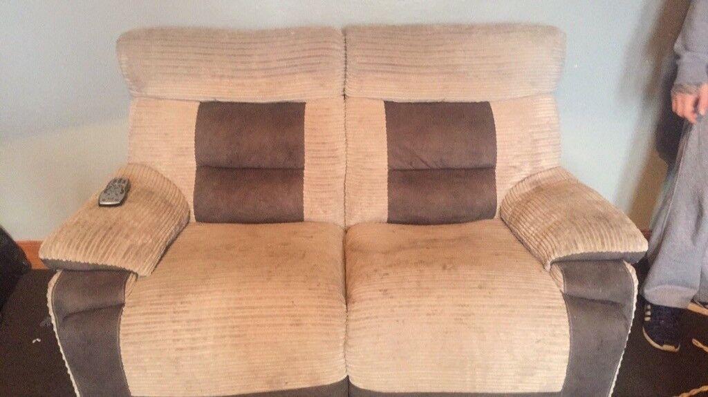 2x2 seater recliner sofas needing gone asap