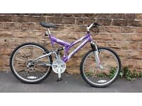 EXCEL VEGAS DUAL SUSPENSION MTB