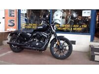 Harley Davidson Iron 883 Sportster Year 2016 & comes with Warranty