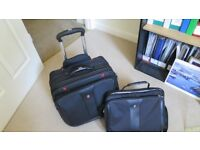 Business travel case (Patriot by Wenger) 2-Piece as good as new