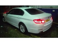 FOR SALE 2012/61 PLATE BMW 520d EFFICIENTDYNAMICS F10 FULL SERVICE HISTORY LOW MILEAGE 106k