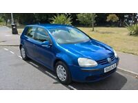 VOLXSWAGEN GOLF 2005 55 1.4 S 5 DOOR HATCHBACK MANUAL, LONG MOT 1495