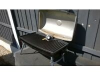 NICE CLEAN GAS BBQ WITH CASE IDEAL CAMPING , CARAVAN ECT