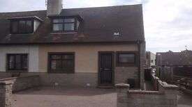 PRICE REDUCTION 2 bedroom house + parking to let in boddam,peterhead reduced from £600 to £550 pcm