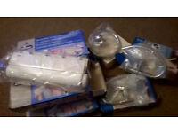 TOWEL RINGS AND AND INDOOR CLOTHES LINES JOB LOT